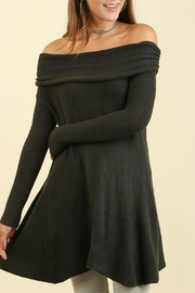 Umgee USA Off the Shoulder Sweater - Side cropped