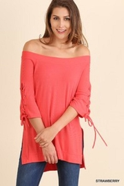 Umgee USA Off Shoulder Top - Product Mini Image