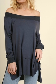 Umgee USA Off Shoulder Top - Front cropped