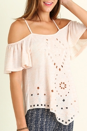 Umgee USA Off Shoulder Top - Front full body