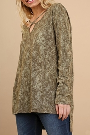Umgee USA Olive Cross Tie - Front full body
