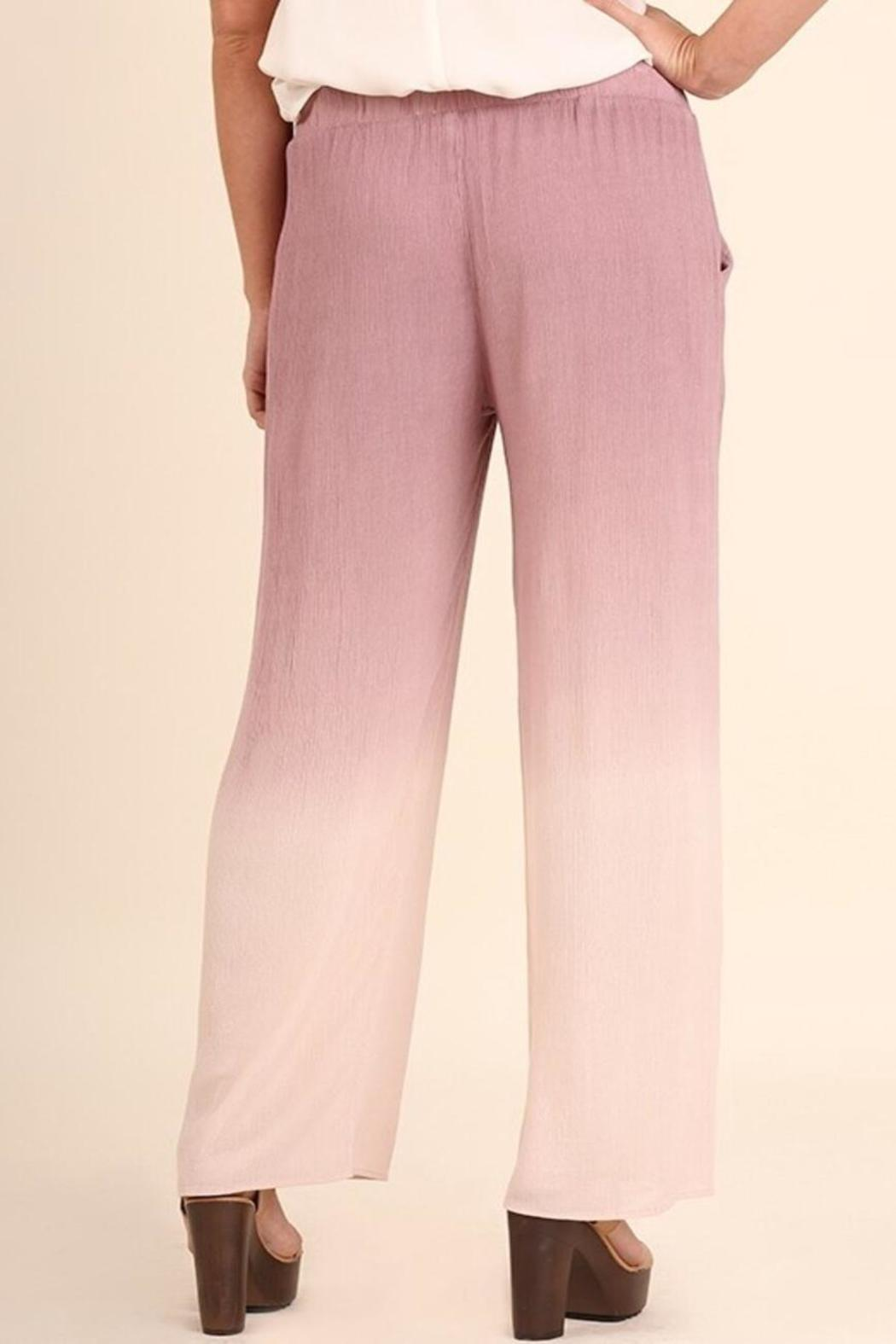 Umgee USA Ombré Pants - Front Full Image