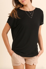 Umgee USA Open Back T-Shirt - Front full body