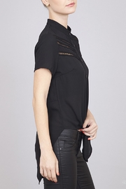 Umgee USA Open Back Top - Front full body