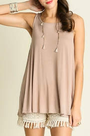 Umgee USA Open Back Top - Front cropped