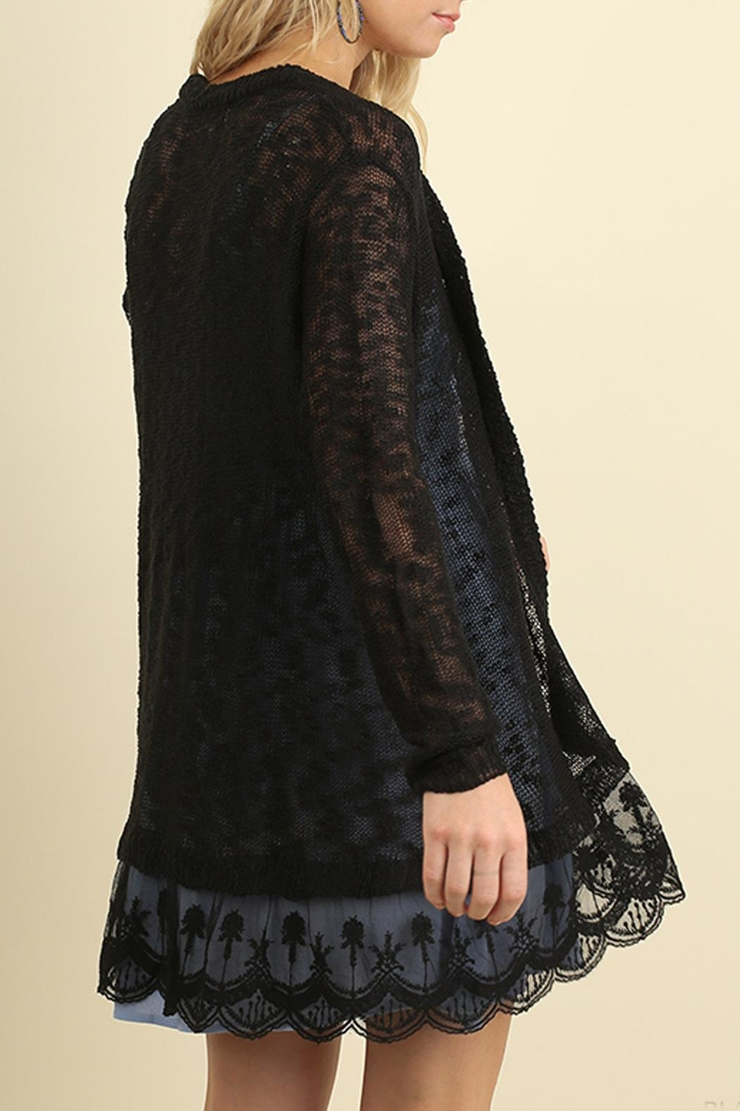 Umgee USA Open Front Cardigan - Front Full Image