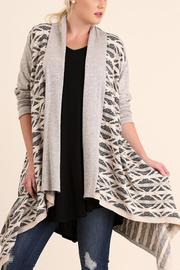 Umgee USA Open Front Knit Cardigan - Product Mini Image