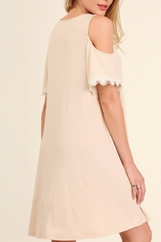 Umgee USA Open Shoulder Dress - Side cropped