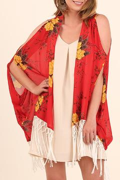 Shoptiques Product: Open Shoulder Kimono