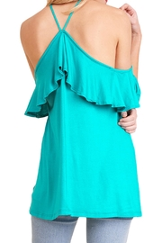 Umgee USA Open Shoulder Top - Front full body