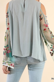Umgee USA Open Shoulder Top - Side cropped