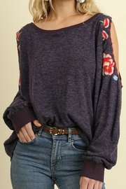 Umgee USA Open Sleeve Top - Front cropped