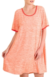 Umgee USA Orange Flowy Dress - Product Mini Image