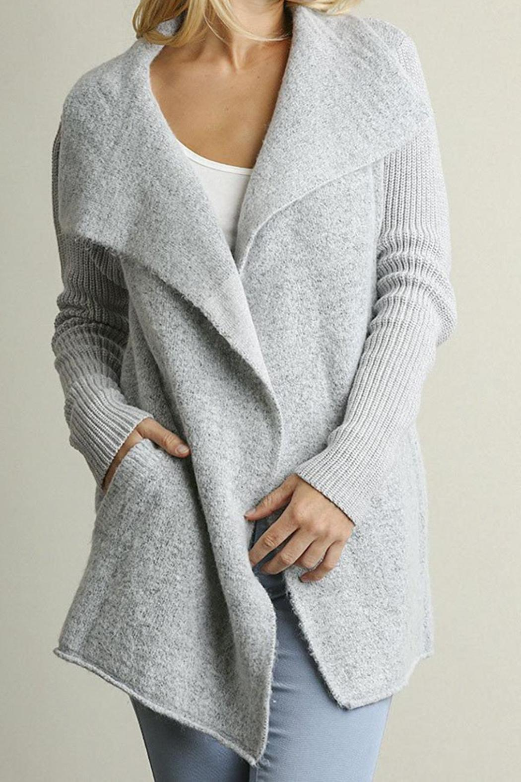 Umgee USA Oversized Grey Cardigan from Virginia by mod&soul ...