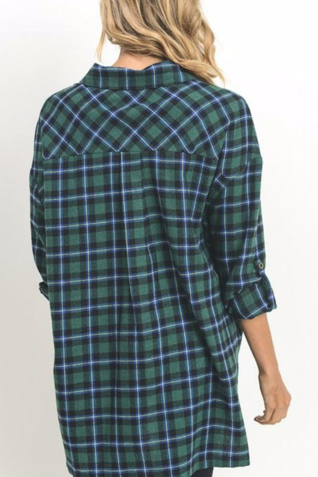 Umgee USA Paid Flannel - Front Full Image