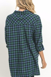 Umgee USA Paid Flannel - Front full body