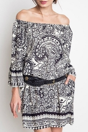 Umgee USA Paisley Day Dress - Product Mini Image