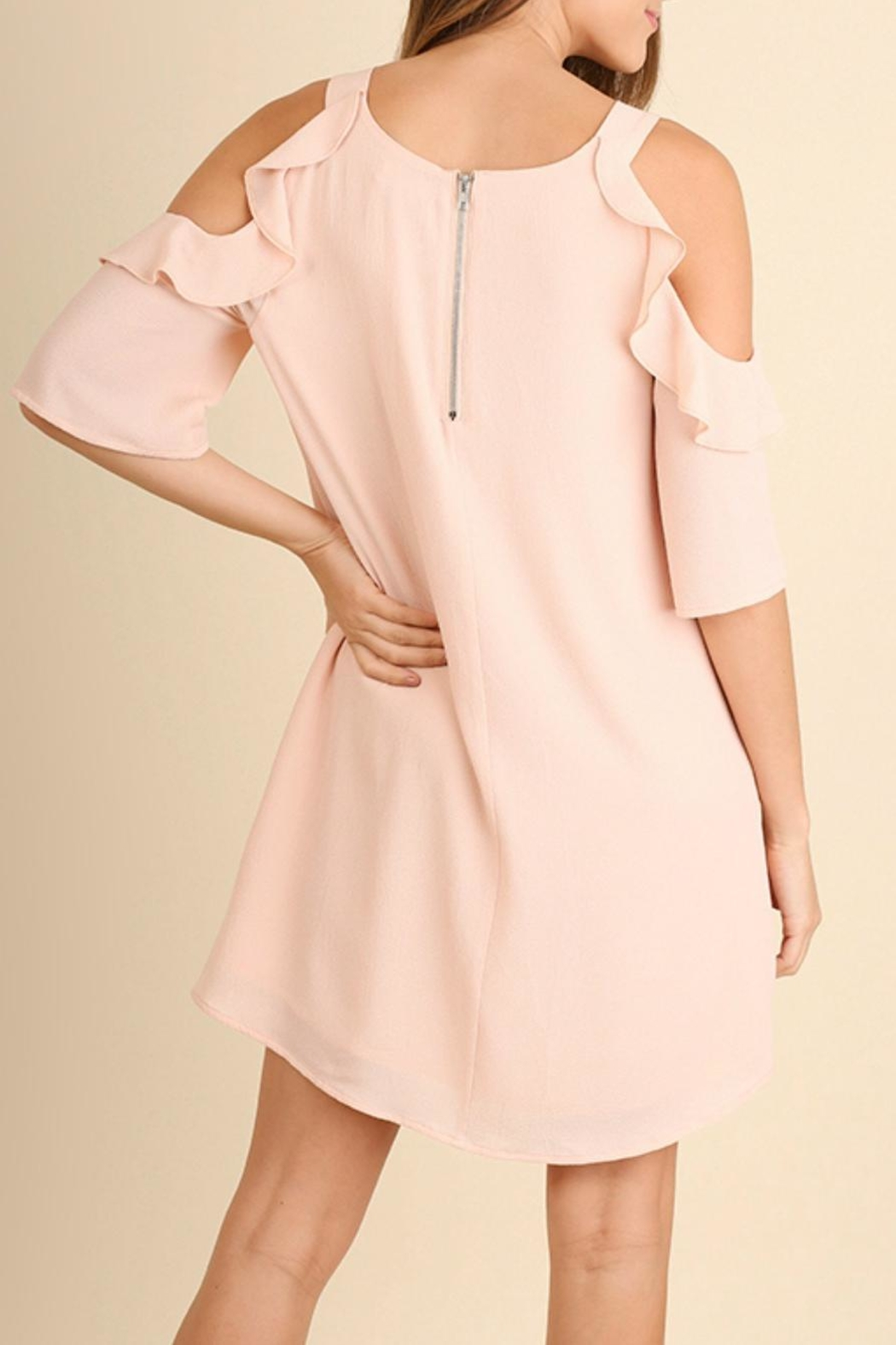 Umgee USA Peachy Keen Dress - Side Cropped Image