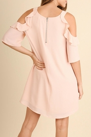 Umgee USA Peachy Keen Dress - Side cropped