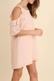 Umgee USA Peachy Keen Dress - Front full body