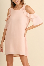 Umgee USA Peachy Keen Dress - Front cropped