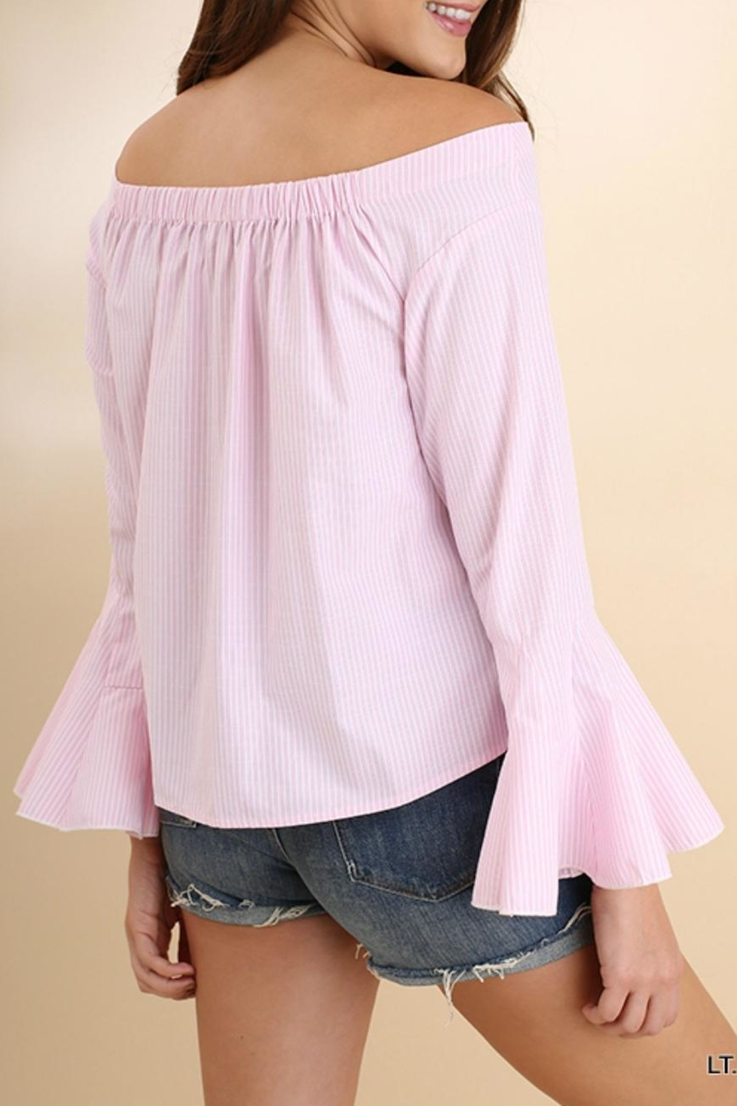 Umgee USA Perfect Pink Poplin - Side Cropped Image