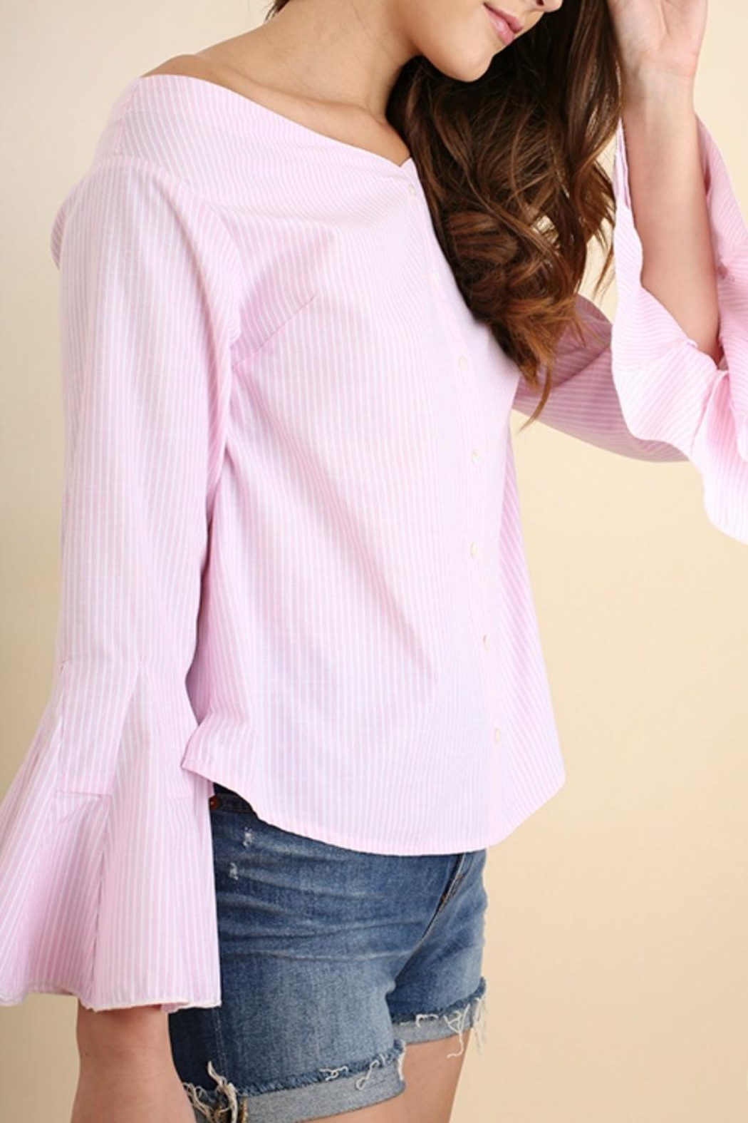 Umgee USA Perfect Pink Poplin - Front Full Image