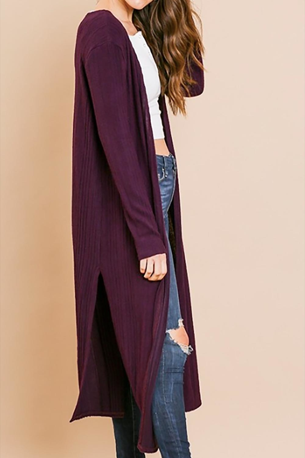 Umgee USA Plum Duster - Front Full Image