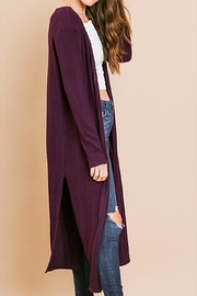 Umgee USA Plum Duster - Front full body
