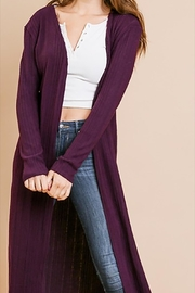 Umgee USA Plum Duster - Front cropped