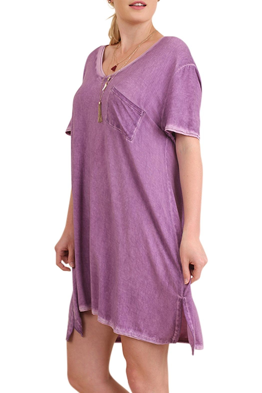Umgee Usa Pocket T Shirt Dress From Missouri By The Sparkly Pig