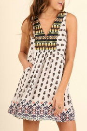 Umgee USA Print Pocket Dress - Product Mini Image