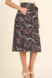 Umgee USA Print Skirt - Side cropped