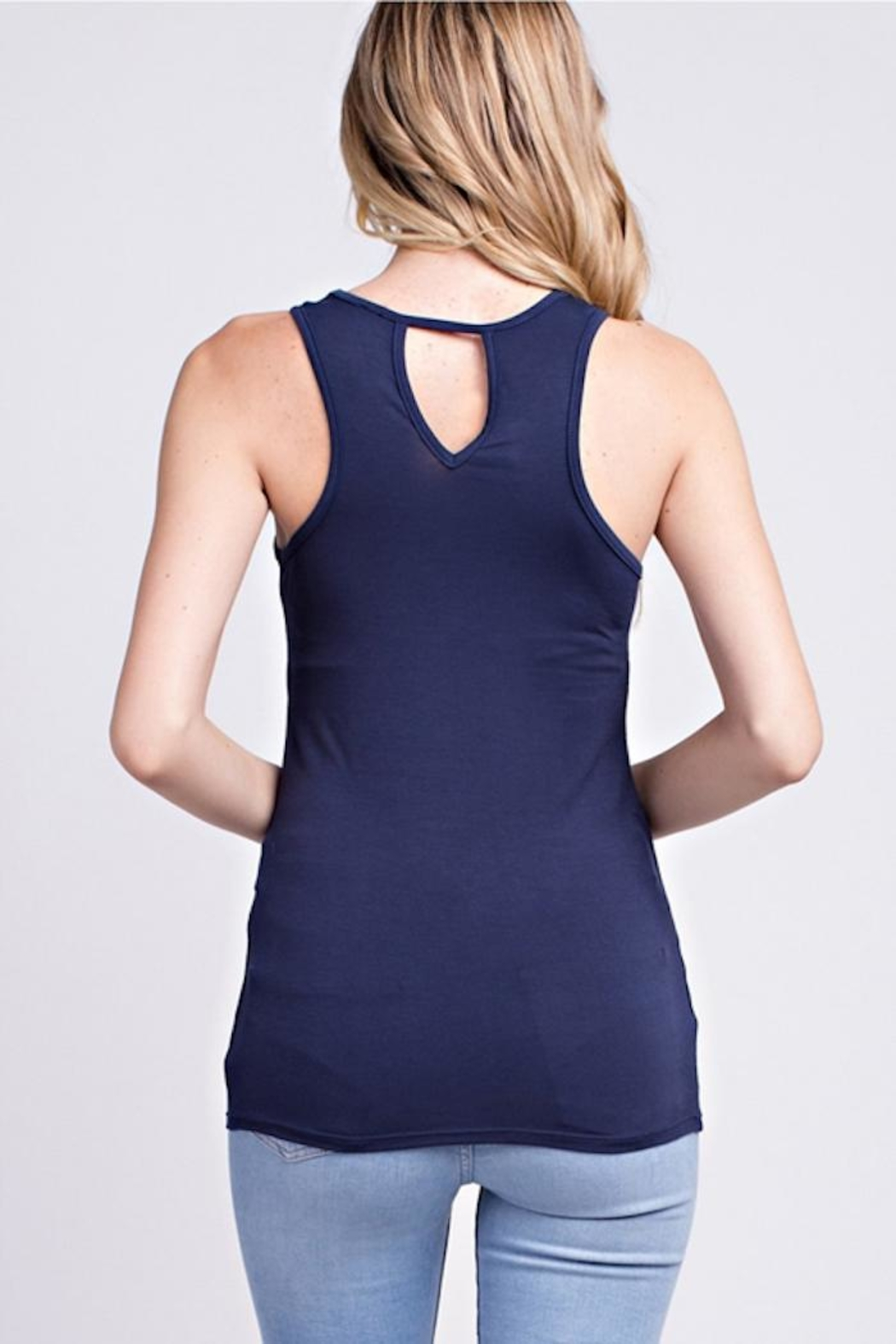 MTS Racer Back Tank - Front Cropped Image