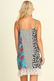 Umgee USA Red/blue Provence Sunddress - Front full body
