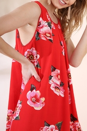 Umgee USA Red Floral Dress - Other