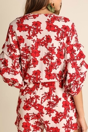 Umgee USA Red Floral Romper - Other