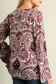 Umgee USA Red Paisley Bell - Side cropped