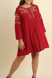 Umgee USA Red Plus Dress - Product Mini Image