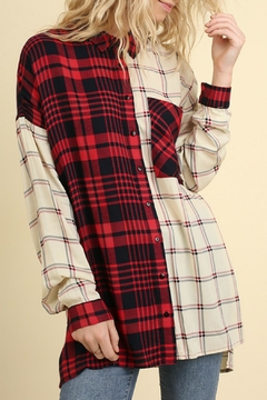 Shoptiques Product: Red & White Flannel
