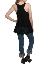Umgee USA Ribbed Tank Lace Top - Other