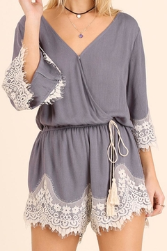 Shoptiques Product: Romper With Lace