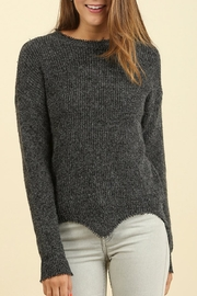 Umgee USA Round Neck Sweater - Product Mini Image