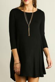 Umgee USA Scoop Neck Dress - Front full body