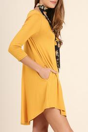 Umgee USA Scoop Neck Dress - Front cropped