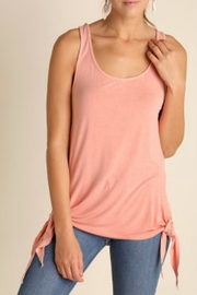 Umgee USA Pink Dye Tank Top - Product Mini Image