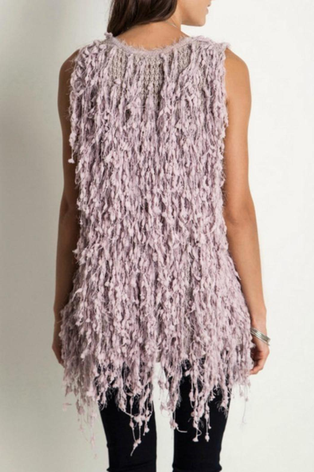 Umgee USA Shaggy Fringe Vest from Mississippi by Exit 16 ...