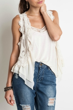 Shoptiques Product: Short Lace Vest