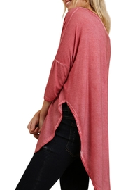 Umgee USA Side Slit Top - Front full body