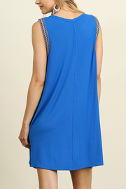 Umgee USA Sleeveless Dress - Back cropped